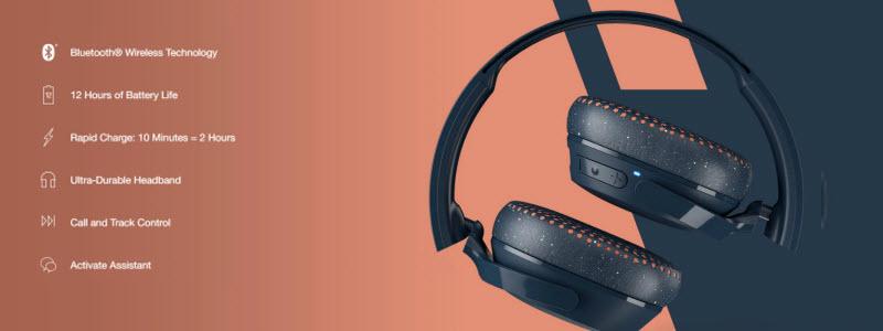 هدفون اسکال کندی Riff Wireless با طراحی جذاب و بروز
